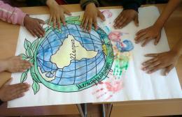 Отбелязахме Деня на Земята в Първо ОУ Св. Климент Охридски - Раднево - Изображение 1