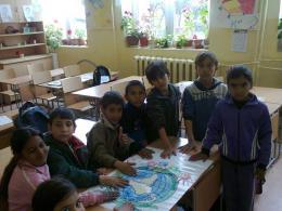 Отбелязахме Деня на Земята в Първо ОУ Св. Климент Охридски - Раднево - Изображение 3