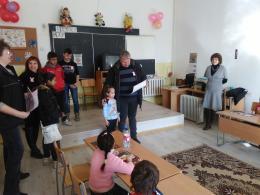 Ден на розовата фланелка - Първо ОУ Св. Климент Охридски - Раднево