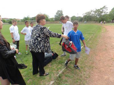 Спортни дейности - Първо ОУ Св. Климент Охридски - Раднево