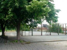 Спортна площадка - Първо ОУ Св. Климент Охридски - Раднево